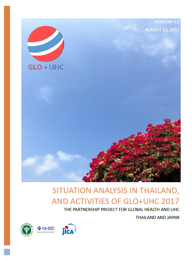 Situation Analysis In Thailand, and Activities of GLO+UHC 2017