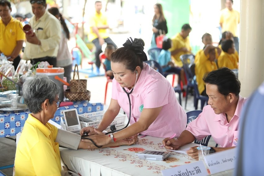 NHSO promotes local health projects for promoting good health